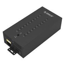ORICO 150W 20 Port Powered USB 2.0 Hub Industrial Charger Mac Windows PC Laptop