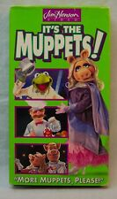 "Its the Muppets ""MORE MUPPETS, PLEASE"" VHS VIDEO 1997"