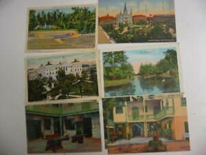 50 Older Louisiana Postcard Lot