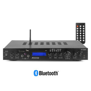 AV-150 5 Channel Amplifier Home Cinema Surround Sound System, Bluetooth, FM, USB