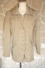 Manteau beige neuf de marque Rever Mile taille 42 étiqueté à 179€