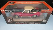 1:18 Highway 61 1970 DODGE CHALLENGER 340 SIX PAK PINK WHITE 1/600 50784  ERROR