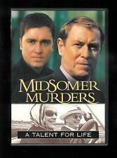 MIDSOMER MURDERS: A Talent for Life (DVD) JOHN NETTLES VG w/ chapter insert