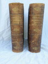 Nouveau dictionnaire universel maurice lachatre 2 tomes imp charles blot 1878-80