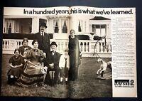 Life Magazine Ad MONTGOMERY WARD 100th Anniversary 1971 Ad