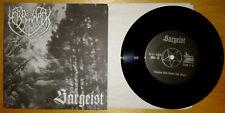 "SARGEIST / MERRIMACK - Split EP 7"" - Sammlerzustand (Horna,Behexen,Mgla)"