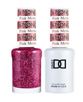 Daisy DND Duo GEL + MATCHING Nail Polish 679 Pink Mermaid