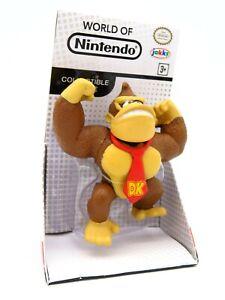 "World of Nintendo Figure - 2015 Donkey Kong - Jakks 2.5"" Super Mario Bros"