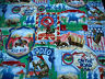 Western Fabric By The Yard Rodeo Scenic Wild West Cowboy Horse Quilting Cotton