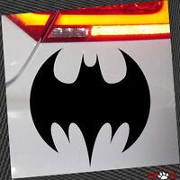 XL  Autoaufkleber Auto Tattoo ca. 44 x 33cm in Schwarz #4 - Batman