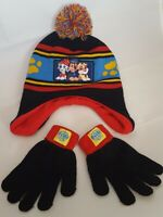 Nickelodeon Paw Patrol Kids Winter Hat and Gloves One Size
