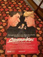 Cobra Kai The Karate Kid NYCC Exclusive Poster New York Comic Con Johnny IDW