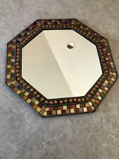 Partylite Global Fusion Mirrored Tray Euc!