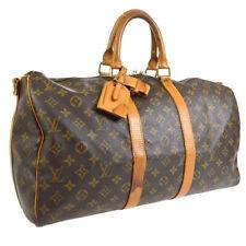 LOUIS VUITTON KEEPALL 45 BANDOULIERE 2WAY TRAVEL HAND BAG PURSE tr A54456