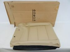 New OEM 2005-2010 VW Jetta Rear Left Driver Seat Back Pad Cover Beige Leather