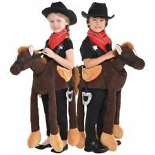 Childs Ride on Horse Pony Costume Boys Girls Animal Fancy Dress Book Day