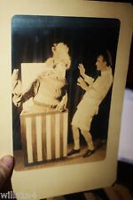 West Point Military theater photo 1920's Cadet as a Jack-in-the-box