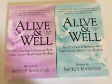 Lot 2 Books- Alive & Well Vol. One & Vol. Two By Bette S. Margolis New