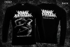 ANAAL NATHRAKH-The Whole of the Law,T-shirt long sleeve-sizes:S to XXL