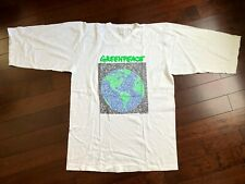 Vtg 1989 Greenpeace Winterland Save The Whales Jersey T Shirt Deadstock Xl Tee