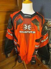 NEW Empire 2012 Prevail F5 Padded Paintball Jersey Red & Black Rare Sz 3XL