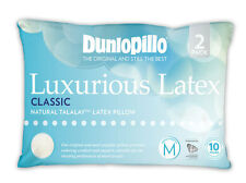 DUNLOPILLO Twin Pack Talalay Latex Classic Medium Profile & Feel Pillow RRP $279