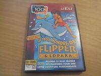 pc/mac cd-rom les trois mondes de flipper & lopaka
