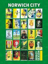 More details for 20/21 norwich city home programmes - full set