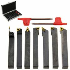 Carbide Indexable Turning Tool 12 7 Pc Lathe Tool Bit Set Thread Insertholder