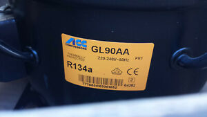 ACC Thermally Protected R134a 220-240V Compressor GL90AA 719950 5100613 1-14F5