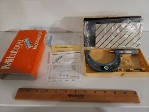 "Calibrated MITUTOYO 2-3"" MICROMETER NO 103-115 Precision Machining Tools"