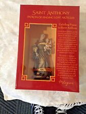 "NEW in Box, ""ST. ANTHONY 4"" STATUE"" by Milagros  PRISTINE & EXQUISITE DETAILING"
