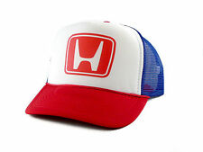vintage Honda Trucker Hat mesh hat snapback hat red/white/blue new