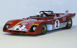 1/18 GMP Ferrari 312PB car #2 Winner of 1972 Daytona Ickx /Andrett G1804107 JI48