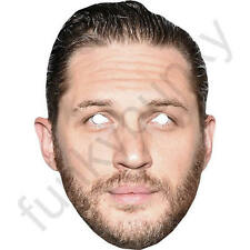 Tom Hardy Version 2 Celebrity Actor Card Mask Masks Pre Cut With Elastic