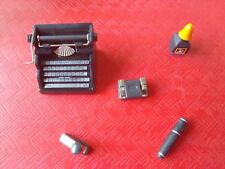 NOS 1/6 Scale ITPT Metal Typewriter Set for 12 inch figure/s, GI Joe, Barbie,etc