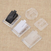 Transparent Finger Ring Display Stand Acrylic Making Craft Jewelry Showcase