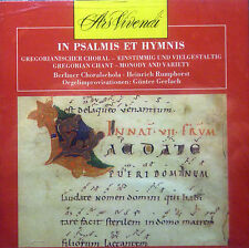 CD en psalmis et HYMNIS - chant grégorien, Heinrich Rumphorst