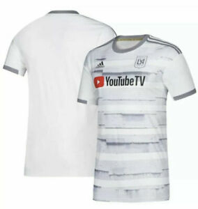 Adidas MLS Los Angeles FC White Youth Jersey DP3978 White/Grey DP3978