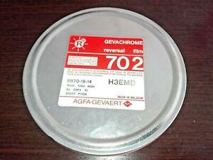 Gevachrome 702 Reversal Film 16mm 122m 400ft AGFA-GEVAERT New, Sealed.