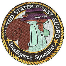 Iron-On Intelligence Secret Squirrel W4884H Uscg Coast Guard heatseal patch