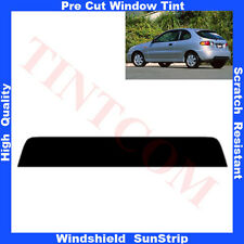 Pre Cut Window Tint Sunstrip for Daewoo Lanos 3 Doors Hatch 97-03 Any Shade