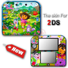 Dora The Explorer Cute Popular SKIN STICKER DECAL COVER #2 for Nintendo 2DS