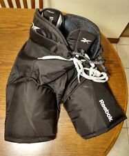 Used Reebok Jdp Hockey Pants With Hip And Thigh Pads Junior Size L