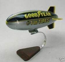 GZ-20 Goodyear Aerospace GZ20 Blimp Desk Wood Model Regular New Free Shipping