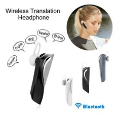 Translator Headset Real Time For Bluetooth Travel Multi-language NEW HiFi Sound