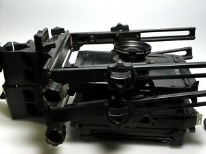Toyo 45C 4x5 View Fachkamera + Roll film Holder 67/45 + Symmaer-S F5.6 150 mm MC