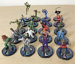 Wizkids Miniatures Figures x 20 Bundle Circa 2000 - 2003