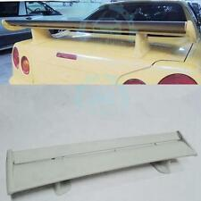 For Nissan Skyline R34 GTT R33 GTS R32 350GT Rear Wing Trunk Spoiler Fiberglass