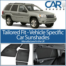 Jeep Grand Cherokee 5dr 98-04 UV CAR SHADES WINDOW SUN BLINDS PRIVACY GLASS TINT